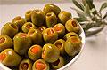 Фаршированные оливки избавят дам от изжоги