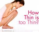 Если женщина слишком худая...