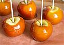 Яблоки в карамели могут содержать опасные бактерии