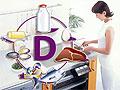 Витамин D спасет от простуд