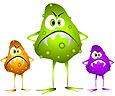 Болезнетворные микробы в продуктах