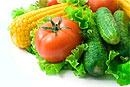 В день нужно съедать не менее 2 овощей