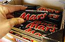 Шоколадные батончики Mars станут