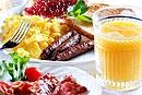 Плотный завтрак и малокалорийный ужин поможет преодолеть бесплодие