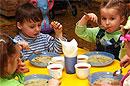 Дети, посещавшие детский сад, имеют повышенный риск ожирения