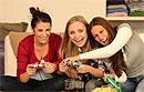 Девушки, которые всего час в сутки проводят за видеоиграми, набирают лишний вес